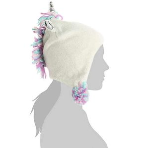 2pc Unicorn hat and mittens